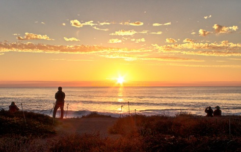 Capture the Sun, Montaña De Oro, California